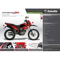 Moto Ztt Zr 125 Cc Zanella 0km 2016