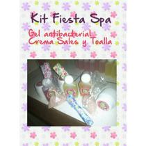 Mini Kit Spa Cotillon Cumpleaños Regalos Incluye Moñera