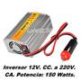 Inversor, Convertidor De Tension 12v. A 220v. 150 W Saavedra