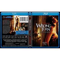 Blu Ray Wrong Turn 3 Left For Dead Camino Hacia El Terror 3