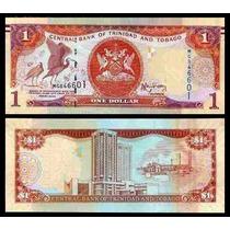 Trinidad & Tobago P-new Fe 1 Dollar 2006 2014 Lote C/10 Col*