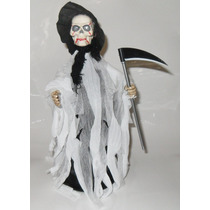 Calavera Dia De Muertos Luz, Sonido Movimiento Halloween