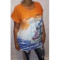 Blusa Feminina Plus Size Para Usar Com Legue Barata + Brinde