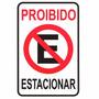 Placa Proibido Estacionar Garagem Advertencia Portao 20x30