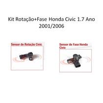 Kit Rotação+fase Honda Civic 1.7 Ano 2001/2006