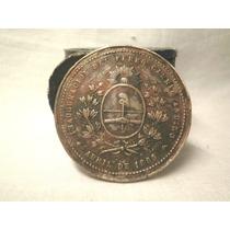 Medalla Inauguracion Del Ferrocarril Andino 1885