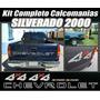 Kit Calcomanias Stikers Silverado 2000 Completas