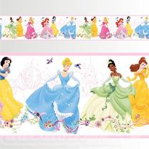 Adesivo 123 Faixa Border Princesas Disney Mod 271