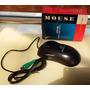 Mouse Ps2 A Bolita Nuevo En Caja Negro - Casapompeya