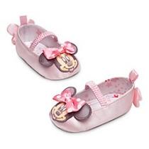 Zapatillas De Bebe Talla 0/6 Meses (original Disney)