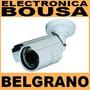 Camara De Cctv 520 Tvl Exterior Color Ccd C/soporte Inc