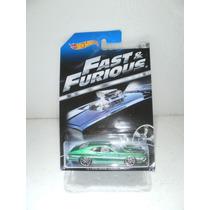 Hot Wheels Fast & Furious 72 Ford Gran Torino Sport Verde5/8