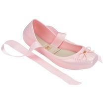 Sapatilha Feminina Zaxy Ballerina Linda Rosa
