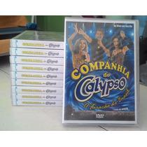 Lote 10 Dvds Companhia Do Calypso Ao Vivo Recife Vol.1 Origi
