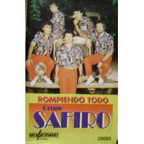 Cumbia Santafesina-grupo Safiro-cassette Musigrandcassette