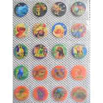 Colección Completa De 51 Tazos De Dinosaurios ( Sabritas )