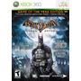 Juego Batman Arkham Asylum Game Of Year Xbox 360 Ntsc Españo