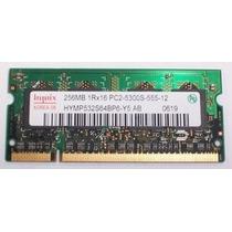 Memoria Laptop Marca Hynix 256mb Ddr2 667mhz Pc2 5300
