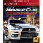 Midnight Club Los Angeles Ps3 Nuevo Fisico Caja Sellada
