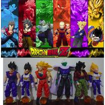 Bonecos Dragon Ball Z Kit 6 Figuras Anime Articulados Manga