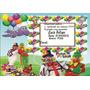 30 Convites Personalizados Infantis Com Fotos = 10 Reais