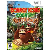 Donkey Kong Country Returns Para Nintendo Wii Lacrado
