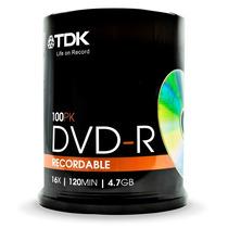 Dvd R Virgen Tdk Pack X 600 Mayorista