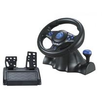 Volante Racer Pc Ps2 Ps3 Gamer Com Pedal Controle