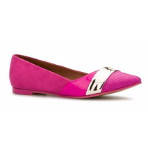 Zapatos De Piso Flats Andrea Rosas Fiusha Grabado Cocodrilo