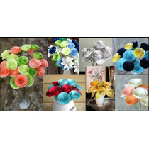 Flores De Papel X 12 Unidades