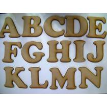 Letras Fibrofacil Ideal Souvenirs 100uni Surtidas A Elección