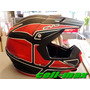 Casco Evs T5 Vortex Xl Cross Atv Enduro Cuatri Impecable!