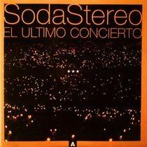 Soda Stereo - El Ultimo Concierto A - Disco Compacto