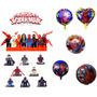Spider Man Kit Festas Homem Aranha Decorações Aniversários