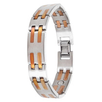 Pulseira Sabona Stainless Copper Bar Magnetic