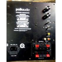 Placa C/ Defeito Subwoofer Polkaudio Psw110 Ou Psw111