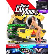 Suscripcion Anual Revista De Car Audio Tips, Eventos, Chicas