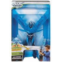 Muñeco Max Steel Espada Transformable Nuevo