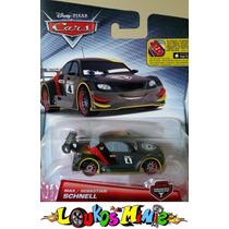Disney Cars 2 Max Schnell Carbon Racers Original Mattel