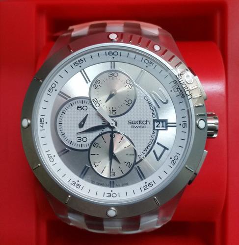 reloj swatch svgk automtico cristal de zafiro nuevo