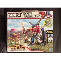 Kre-o Transformers A2203 Beast Blade Optimus Prime