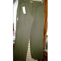 Pantalón Mujer Pata Elefane Oxford T/s-contorno Cintura 75cm