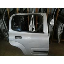 Porta Trazeira Direita Fiat Úno Vivace 4portas