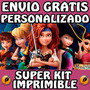 Trazarte - Kit Imprimible Tinker Bell Campanita Hadas Pirata