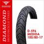 Llanta Diamond D-596 100/80-17 Sellomática (1163)