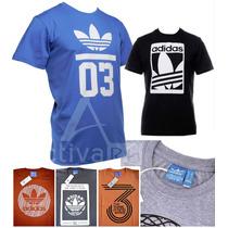Remeras Adidas Originals Hombre X 10 Unidades