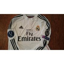 Jersey Adidas Real Madrid Supercopa 14 Manga Larga Champions