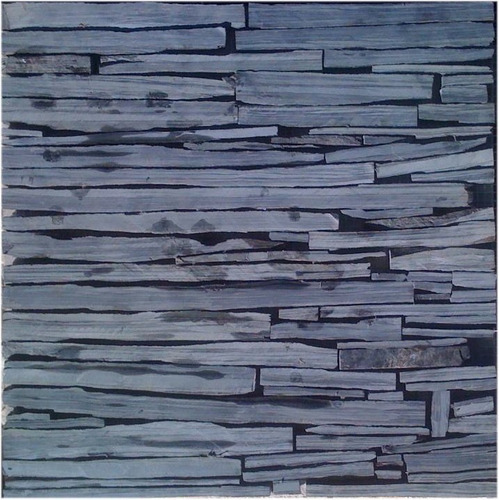 Negra mixteca piedra laja natural en malla de 30x30 a for Lajas de piedra natural