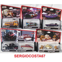 Disney Cars Star Wars 2º Set Completo Com 8pç Frete Barato