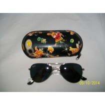 Oculos De Sol Infantil Aviador Preto Meninos E Meninas